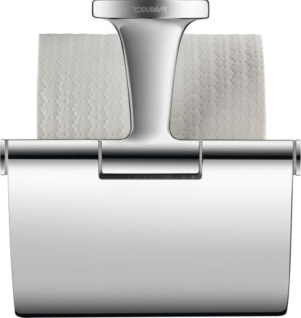 Тримач для туалетного паперу з кришкою Duravit Starck T 99401000