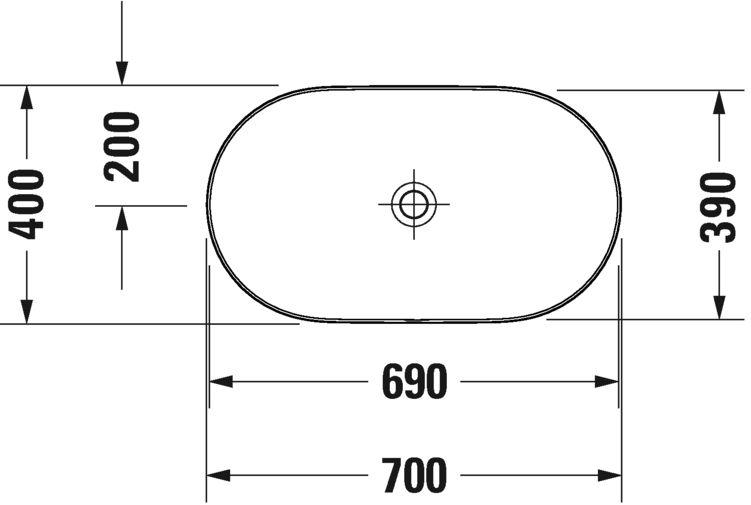 Раковина Duravit Luv 379700000