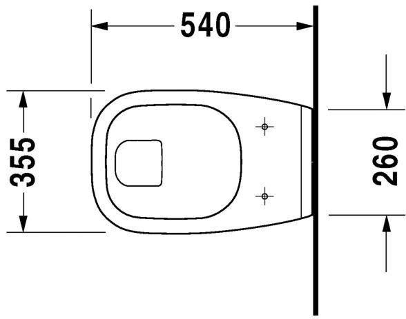 Унітаз підвісний Duravit D-Code 22100900002