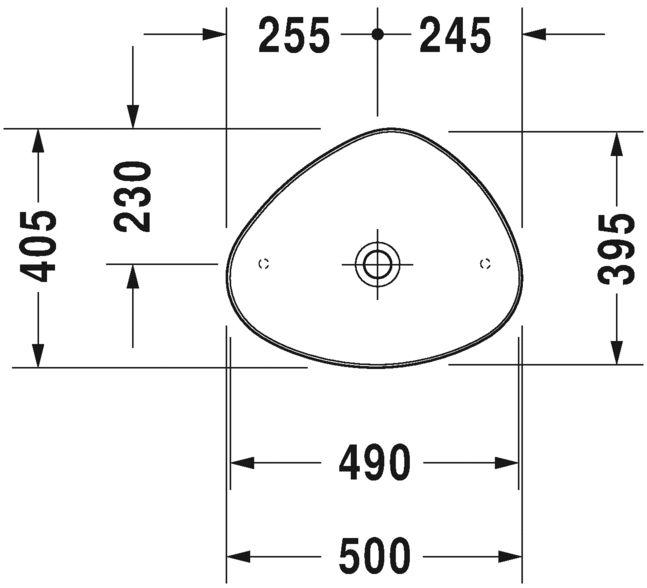 Раковина Duravit Cape Cod 2339503200