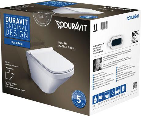 Унітаз підвісний Duravit DuraStyle в комплекті 45520900A1