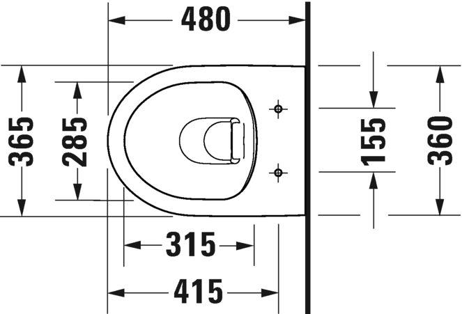 Унітаз підвісний Duravit в комплекті 45750900A1