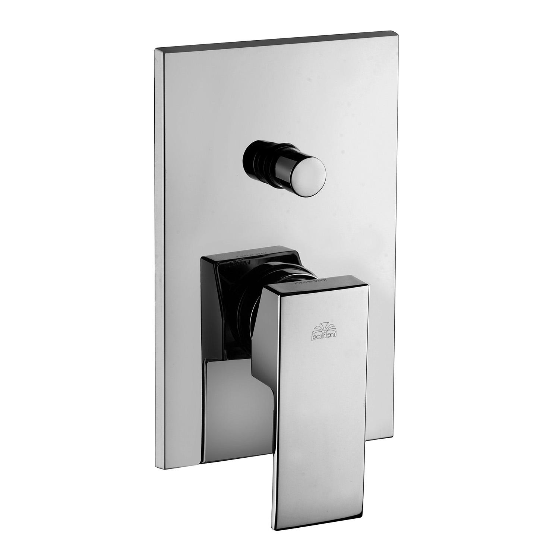 Змішувач для ванни / душа Paffoni Elle, в комплекті з внутрішньою частиною EL015CR