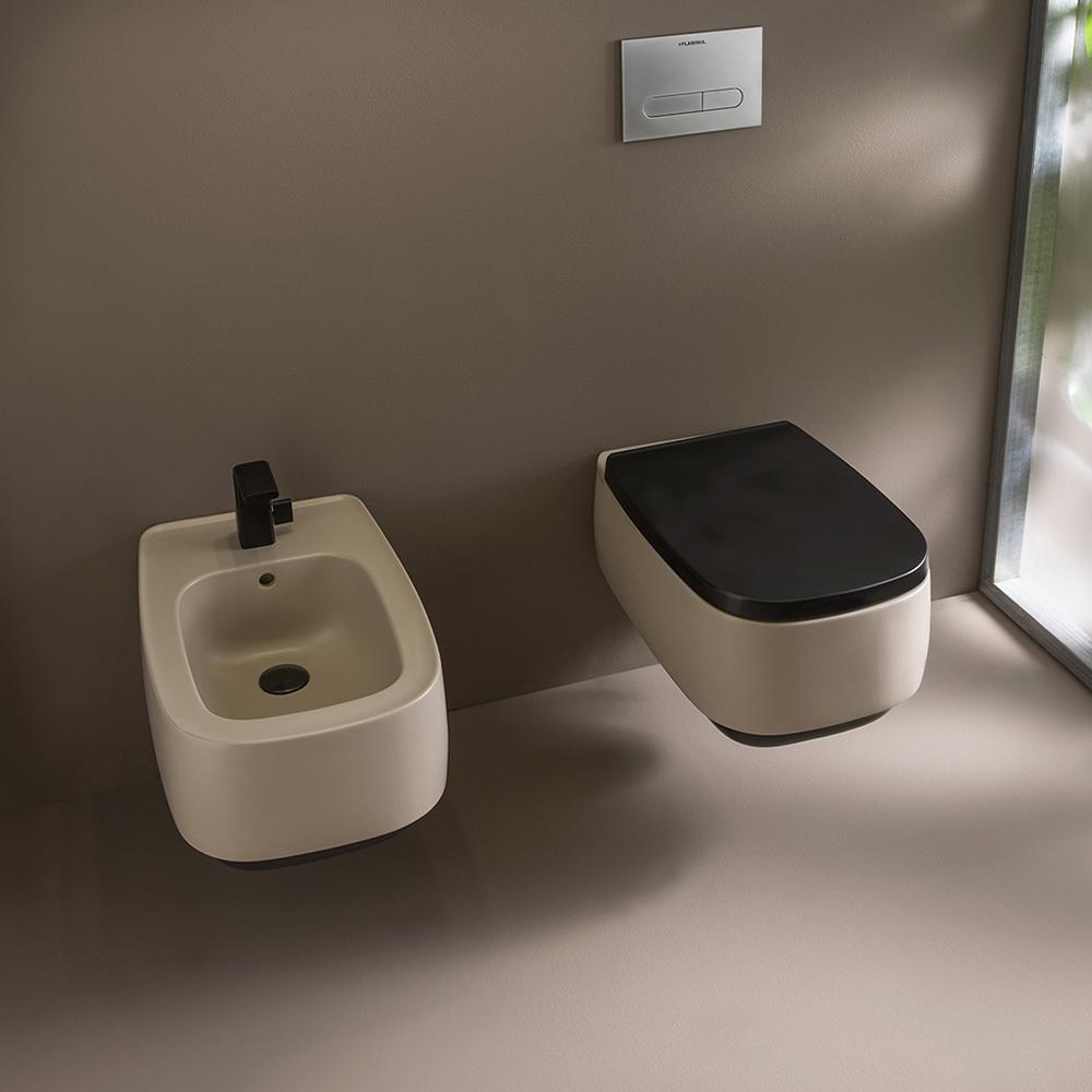 Сидіння Flaminia з кришкою для унітазу Soft Close FGCW03Grafite