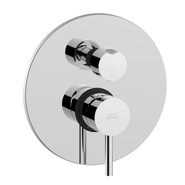 Змішувач для душа Paffoni Light з перемикачем на 2 споживача LIG018CR