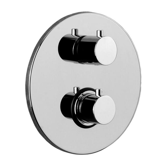 Термостатичний змішувач для душу Paffoni Light з перемикачем на 2 споживача LIQ018CR