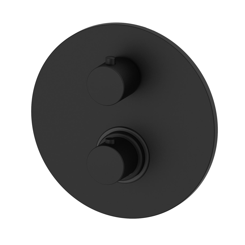 Термостатичний змішувач для душу Paffoni з перемикачем на 2 споживача LIQ018NO