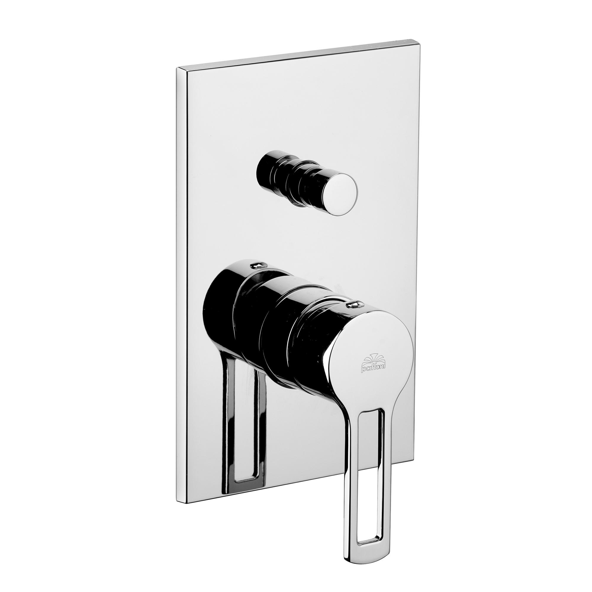 Змішувач для ванни / душа Paffoni Ringo в комплекті з внутрішньою частиною RIN015CR