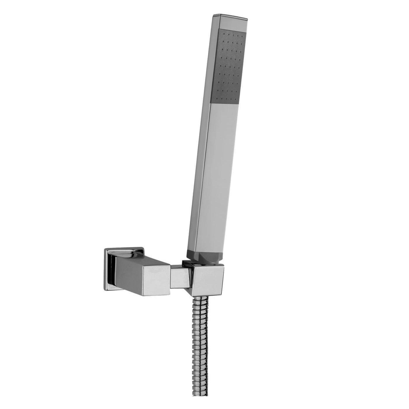 Ручной душ Paffoni с держателем и шлангом 1500 мм ZDUP058CR