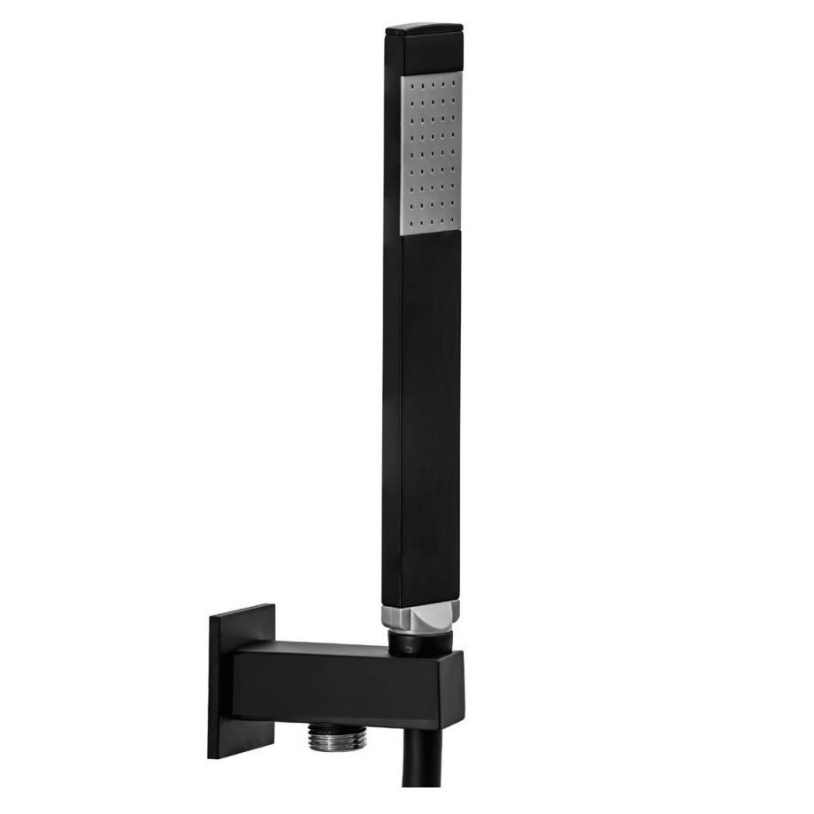 Ручний душ Paffoni з тримачем, шлангом 1500 мм і випуском зі стіни ZDUP095NO