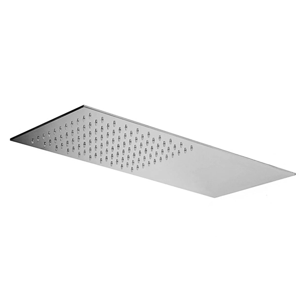 Верхній душ Paffoni Slim прямокутний з металу 500×220 мм ZSOF117CR