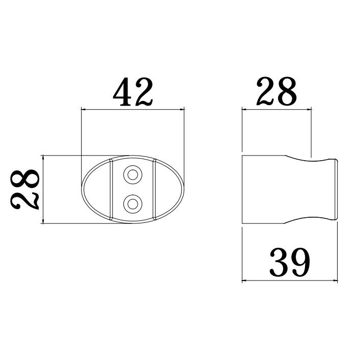 Тримач ручної лійки Paffoni ZSUP030CR