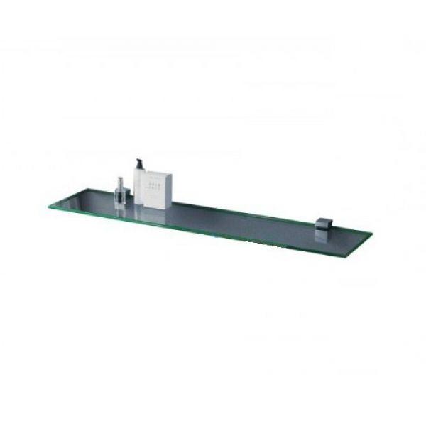 Полка стеклянная Sanwerk сатин 800x120x6мм ZC0000151