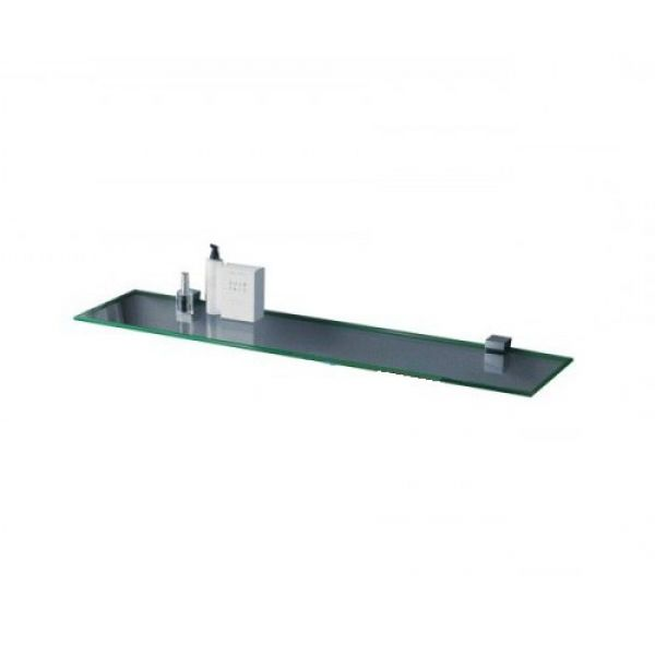 Полка стеклянная Sanwerk сатин 900x120x6мм ZC0000152