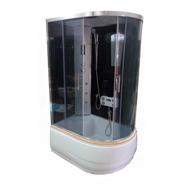 Гидромассажный бокс ATLANTIS AKL-120P L GR 120х80х215