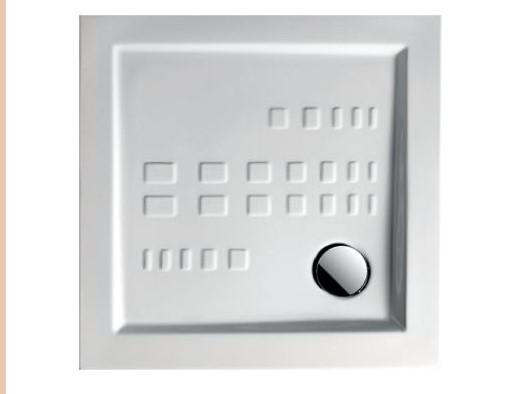 Поддон керамический 80×80 Artceram (квадрат)
