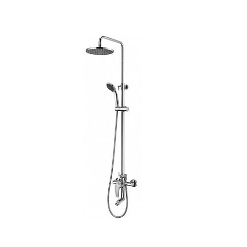 Душевая система Imprese JESENIK (смеситель для ванны, верхний и ручной душ 3 режима, шланг 1,5м) T-10140