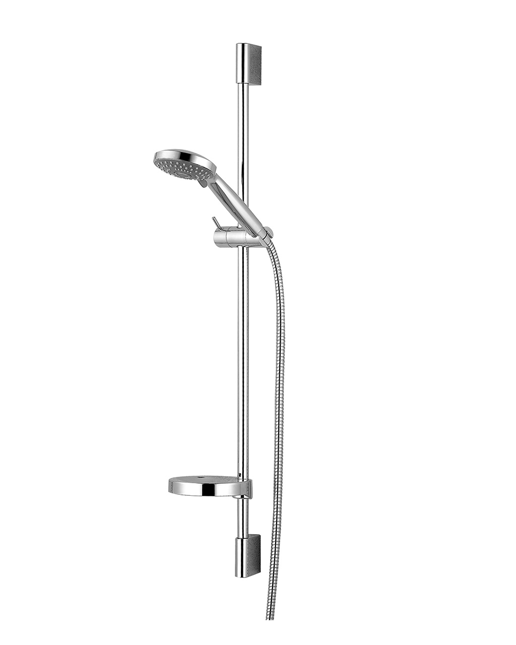 Душевая штанга IMPRESE DOBRANY L-82см,мыльница,ручной душ 3 режима,шланг 1,5м с вращающимся конусом (Anti-Twist),блистер 8210003