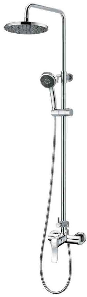 Душевая система Imprese NOVA VLNA (смеситель для душа, верхний и ручной душ, 3 режима, шланг 1,5м) T-15135