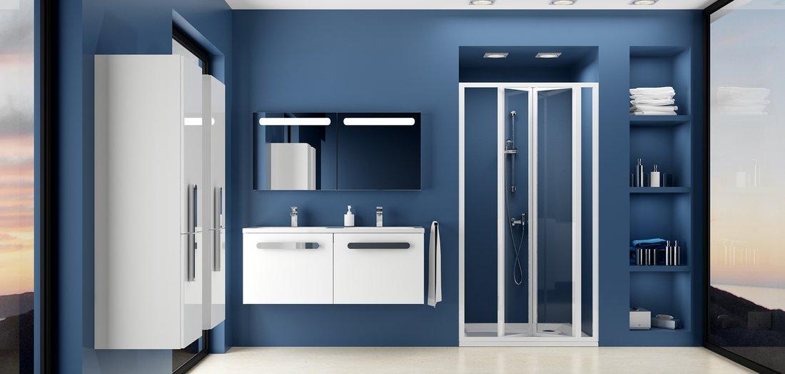 Двери для душевой кабины Ravak SDZ 3-100 transparent, стекло