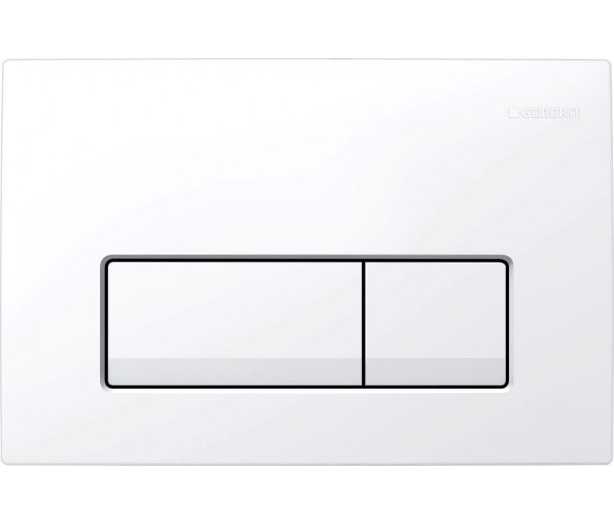 Клавиша смыва GEBERIT Delta 51 белая (115.105.11.1)