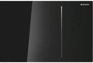 Клавиша для двойного смыва GEBERIT Sigma 70 черная (115.620.SJ.1)