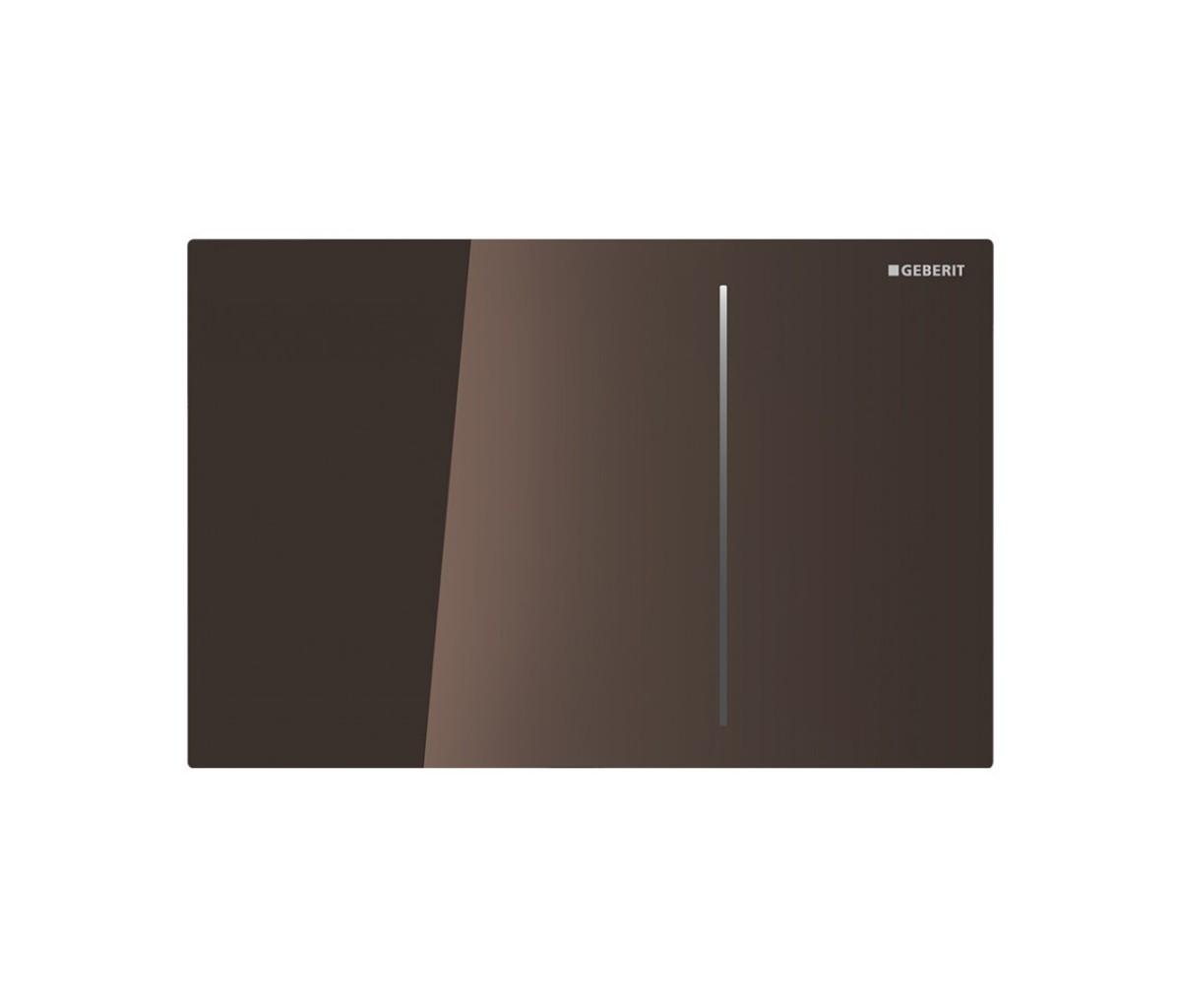 Клавиша для двойного смыва GEBERIT Sigma 70 темно-коричневый (115.630.SQ.1)
