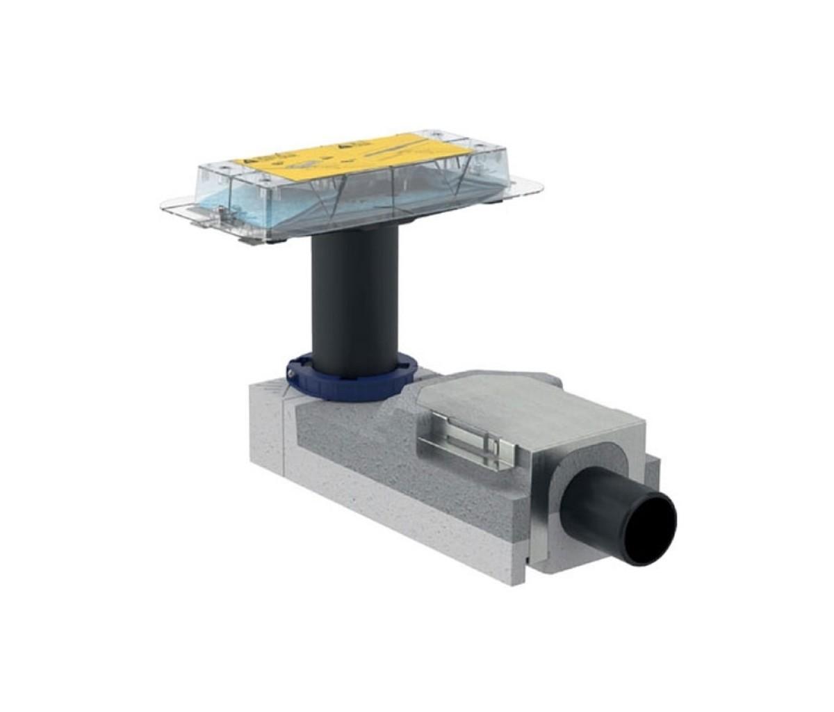 Набор для дренажных каналов CleanLine Geberit, высота пола от 90 мм (154.150.00.1)