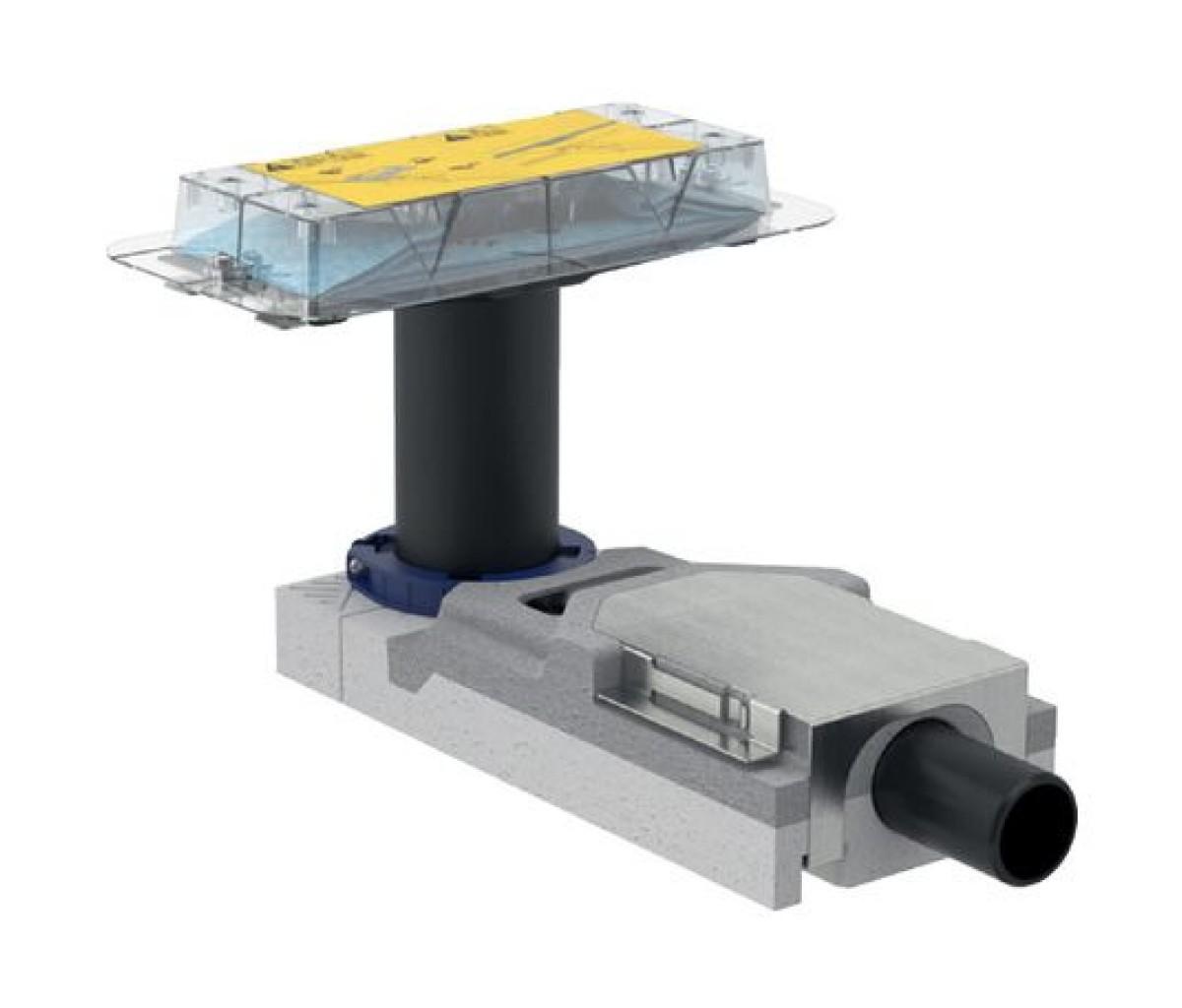 Набор для дренажных каналов CleanLine Geberit, высота пола от 65 мм (154.152.00.1)