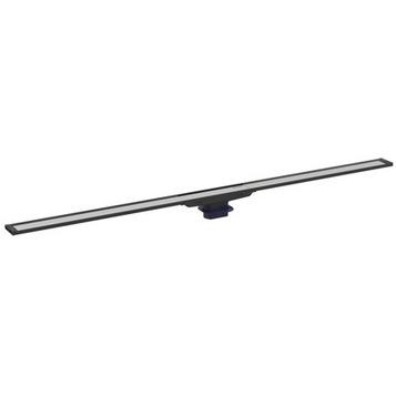 Дренажный канал Geberit CleanLine20, хром матовый/черный, L30-130см (154.451.00.1)