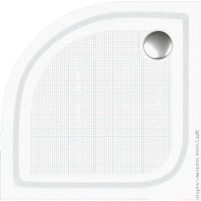 Душевой полукруглый поддон, высота: 16 см, без сифона 90×90 BN-90