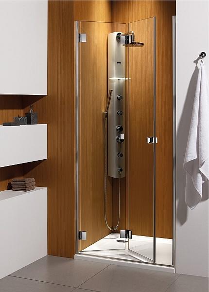 Душевые двери Radaway Carena DWB типа Bi-fold 893×905 левые (34502-01-01NL)