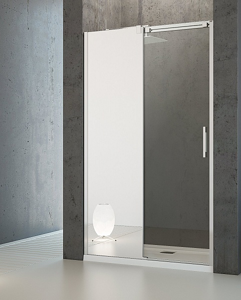Душевые двери Radaway Espera Mirror DWJ 100 левые (380495-01L/380210-71L)