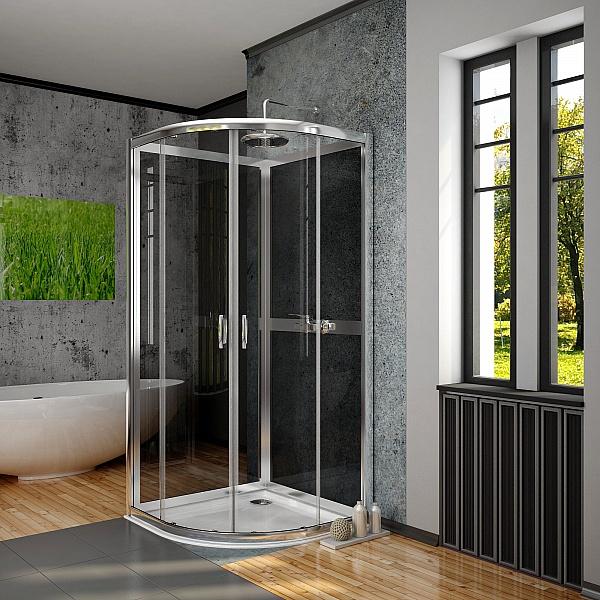 Задняя стенка Radaway Premium Plus 2S 800, стекло графитовое (33443-01-05N)