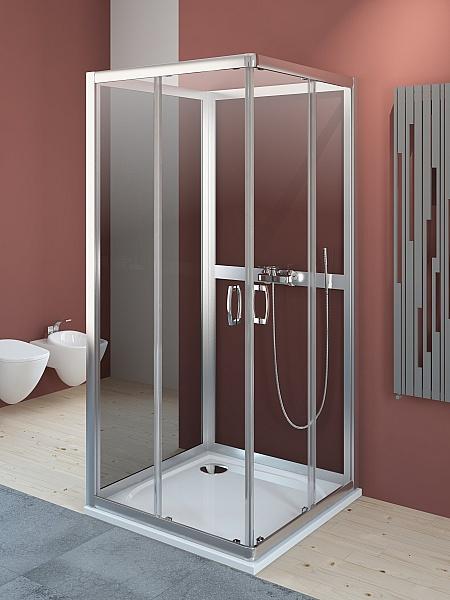 Задня стінка Radaway Premium Plus 2S 800, скло фабрик (33443-01-06N)