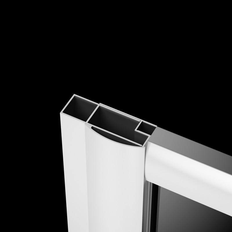Расширительный профиль Radaway Classic белый +20 мм (001-112185004)