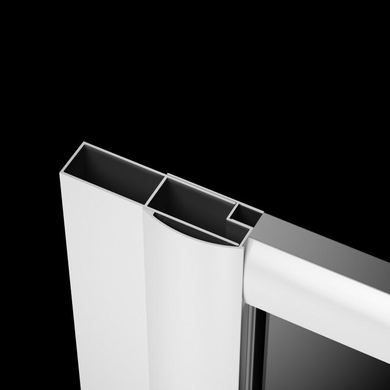Расширительный профиль Radaway Classic белый +40 мм (001-124185004)