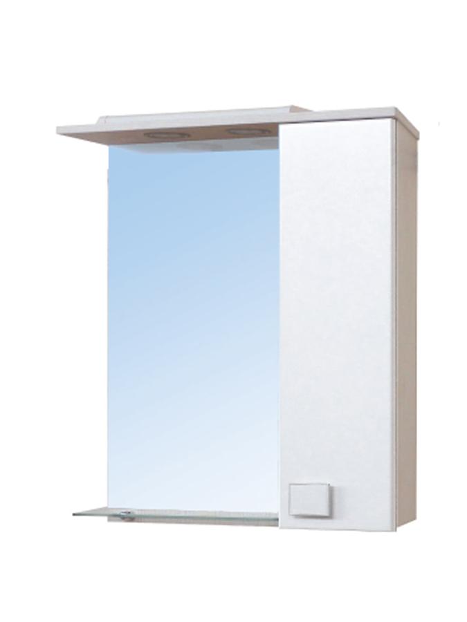 Зеркальный шкаф Мойдодыр ДОМИНО 60х80 Бежевый