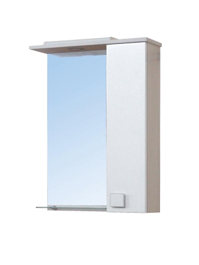 Зеркальный шкаф Мойдодыр ДОМИНО 50х80 Бежевый