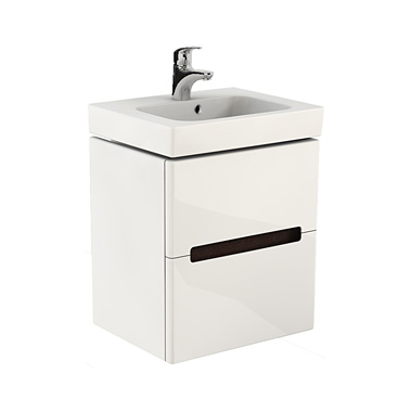 Шкафчик под умывальник Kolo Modo 49 см, белый (89424)