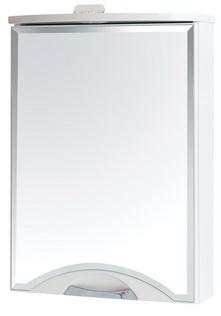 Галерея зеркальная Аква Родос Глория 55 см левая с подсветкой