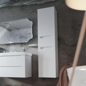 Пенал Sanwerk «ERA AIR» 35 цв. белый L, 4F MV0000419