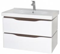 Мебель Аква Родос Венеция с умывальником Сити 80 см (консольная)