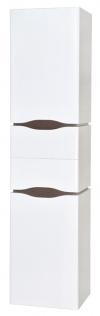 Пенал Аква Родос Венеция 40 см правый с корзиной для белья (консольный)