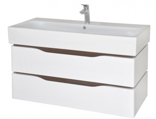 Мебель Аква Родос Венеция с умывальником Пинто 100 см (консольная)