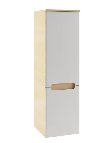 Пенал Ravak SB-350 L Classic с полкой и ящиком, 35х120х30, береза / белый