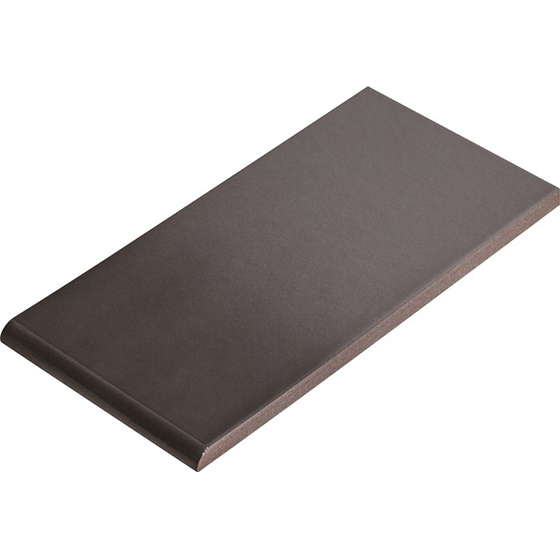 Подоконная плитка Cerrad Szkliwiony grafit 245×135