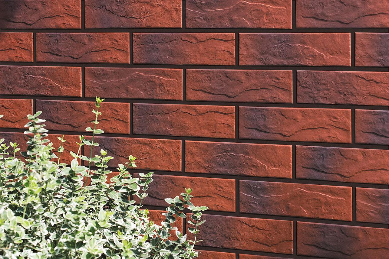 Фасадная плитка Cerrad Burgund (gladki i rustykalny) 245×65