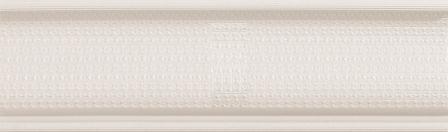 Бордюр Newker Allure Listelo Allure White 8,7×29,5
