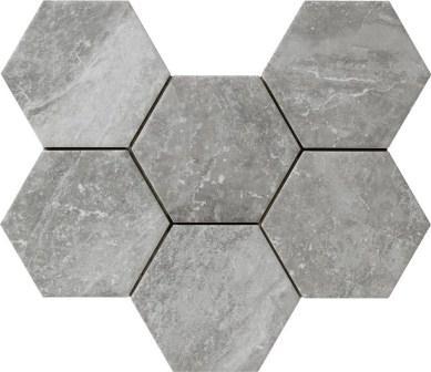 Керамогранит Ragno Bistrot Crux Grey 18,2×21 R4Te